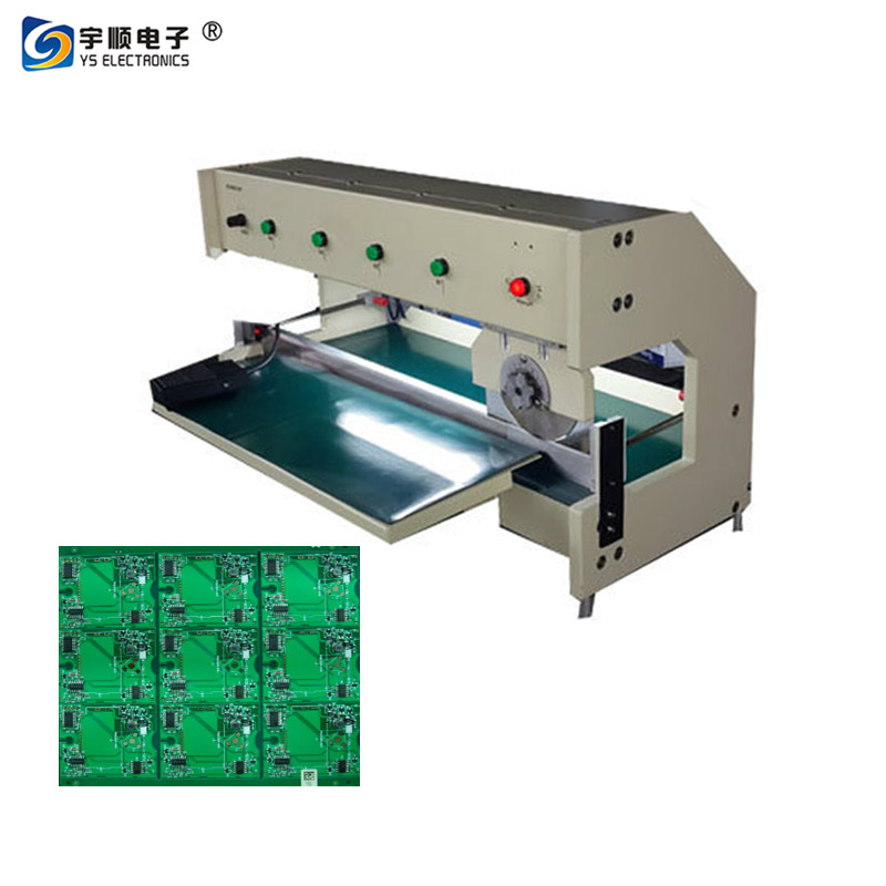 Height 03-3.5mm PCB Separator With High Speed Steel Linear Blades