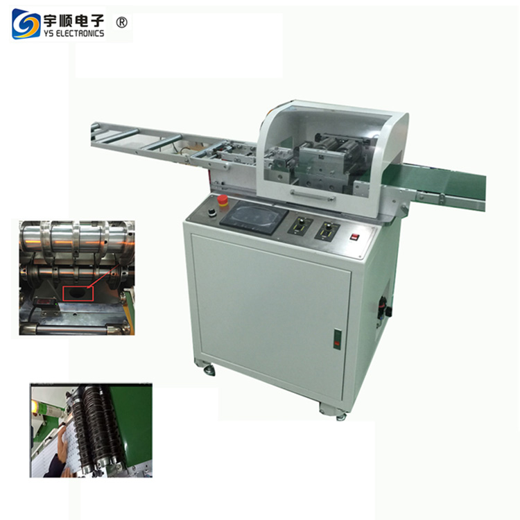 Automatic V Cut PCB Singulation Machine For Printed Circuit Board Nibbler LED