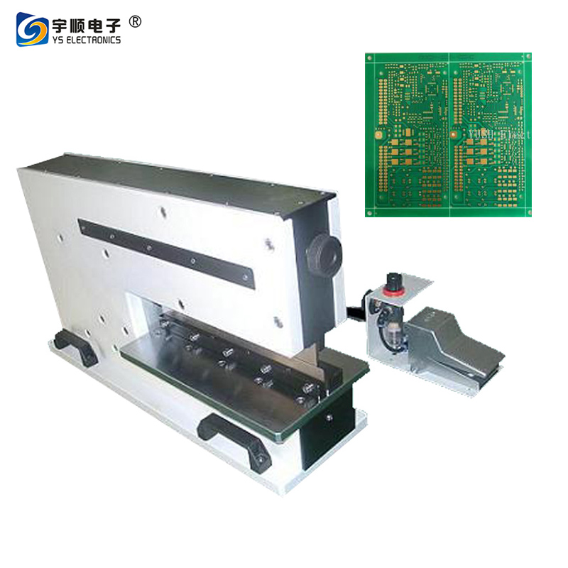 400mm Pneumatically V Cut PCB Cutting Machine for Aluminum Board