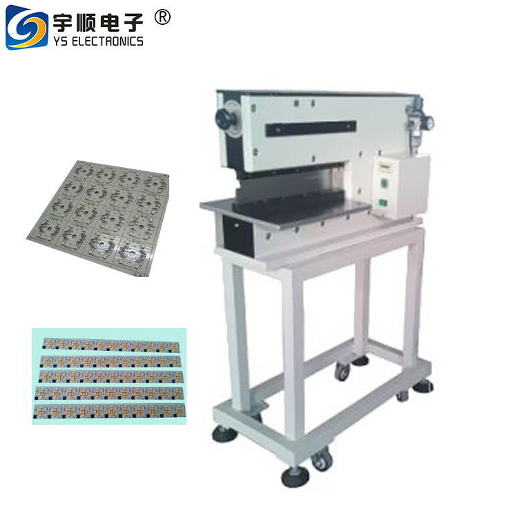 MCPCB Cutting Machine With Motorized Pneumatic Type With Safety Protecting Hand,Pneumatic PCB V Grooving