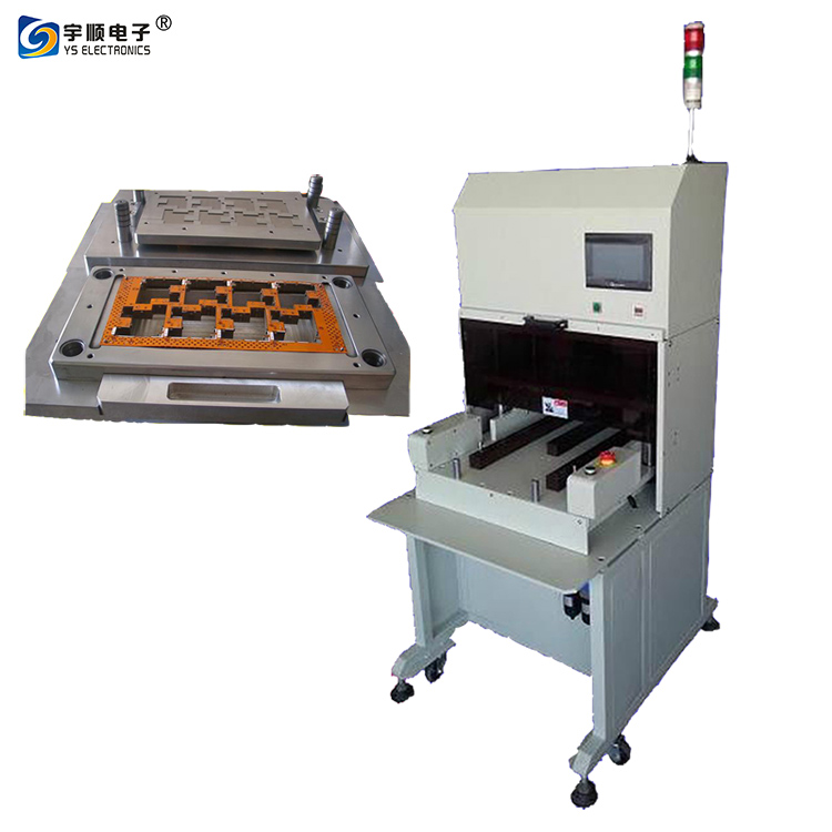 Automatic Pcb Punching Machine, FPCB Punch Depaneling Machine For SMT Assembly depanelization pcb cutting